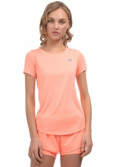 New Balance Women's T-Shirt Accelerate SS WT91136 GPK Orange