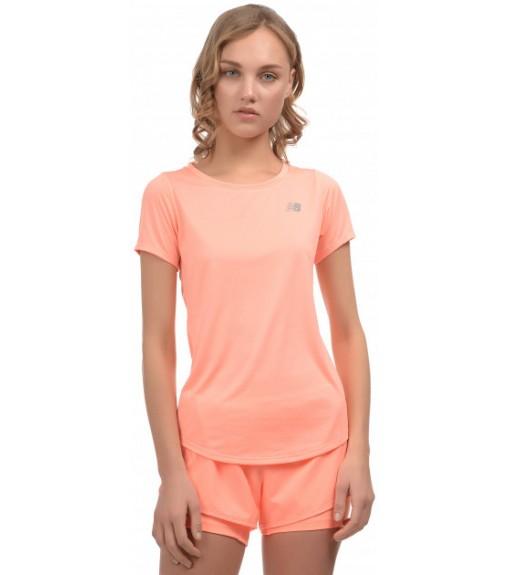 Camiseta Mujer New Balance Accelerate SS WT91136 GPK Naranja | scorer.es