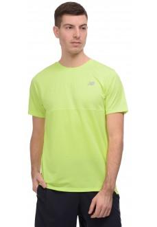 Camiseta Hombre New Balance Accelerate SS Amarillo MT93180 LS2