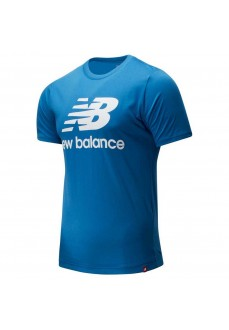Camiseta Hombre New Balance Essentials Stacked MT01575 MAK | scorer.es