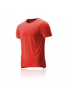 New Balance Men's T-Shirt Accelerate SS Red MT93180 TOR