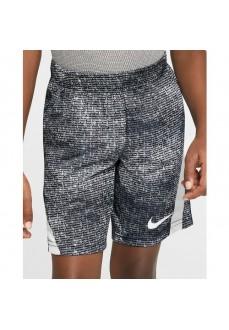 Pantalón Corto Niño/a Nike Dri-Fit Negro/Blanco 86F960-023