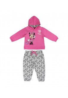Cerdá Kids' Tracksuit Brush Fleece Minnie Pink/Gray 2200004713
