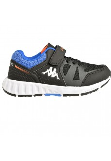 Kappa Kids' Trainers Birdy Ev Black/Blue 3112ZBW_A15