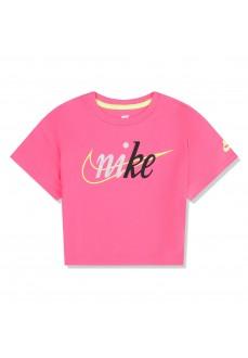 Camiseta Niña Nike Knit Top Fucsia 36G217-A96 | scorer.es
