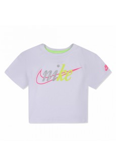Camiseta Niño/a Nike Knit Top Blanco 36G217-001