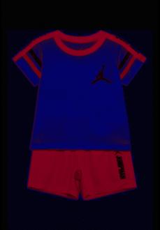 Traje Infantil Nike JDB Jum Elevate Tee Blanco/Rojo 656942-R78 | scorer.es