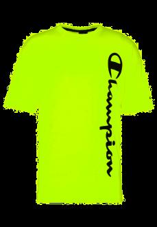 Camiseta Hombre Champion Cuello Caja Amarillo 214233-YF002-SYFF | scorer.es