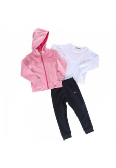Chandal Infantil John Smith Falconar Rosa/Marino