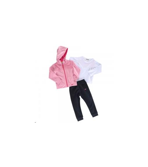 John Smith Infant Tracksuit Falwithar Pink/Navy Blue | Tracksuits for Kids | scorer.es