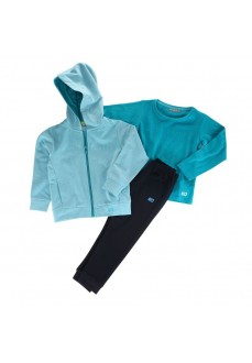 John Smith Infant Tracksuit Falwithar Turquoise/Navy Blue