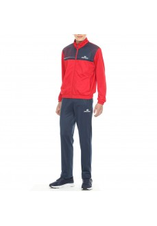 John Smith Boy's Tracksuit Castre Maroon/Navy Blue