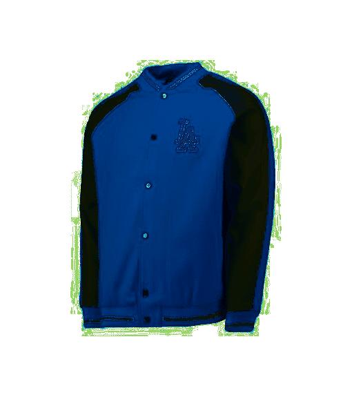 Majestic Jacket Letterman Blue   Men's Sweatshirts   scorer.es