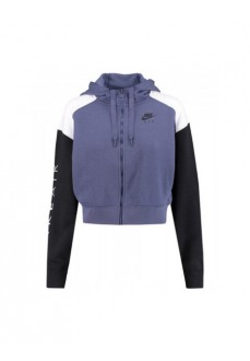 Nike Women's Sweatshirt Air Hoodie Blue/Black BV4771-557 | Women's Sweatshirts | scorer.es