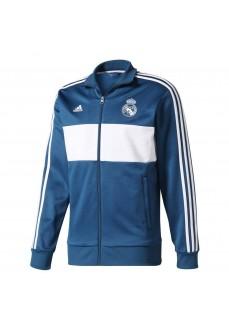 Sudadera Adidas Real Madrid Azul/Blanco