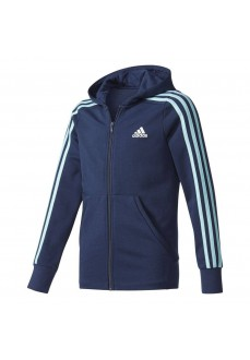 Sudadera Adidas con capucha Marino/Azul Claro