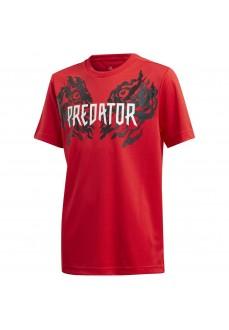 Adidas Kids' T-Shirt Predator Graphic Red FL2754