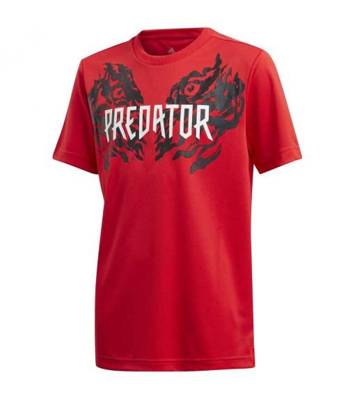 Adidas Kids' T-Shirt Predator Graphic Red FL2754   Football clothing   scorer.es