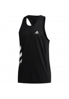 Camiseta Hombre Adidas Own the Run PB 3 bandas Negro FP7540