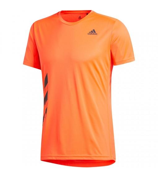 Camiseta Hombre Adidas Run It PB 3 bandas Naranja FR8378 | scorer.es