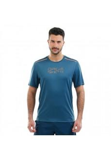 Camiseta Hombre Drop Shot Nur Azul DT201308