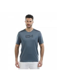 Camiseta Hombre Drop Shot Nur Gris DT201308