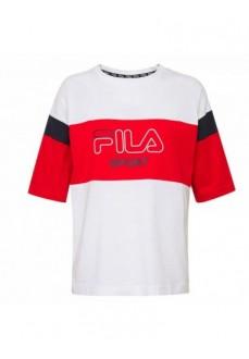 Fila Women's T-Shirt White Red 683066.I17 | Women's T-Shirts | scorer.es