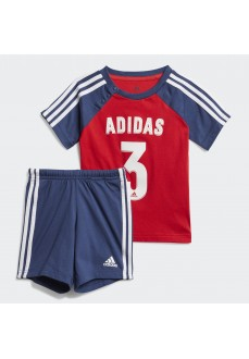Conjunto NIño/a Adidas Summer Sport Azul/Rojo FM6398