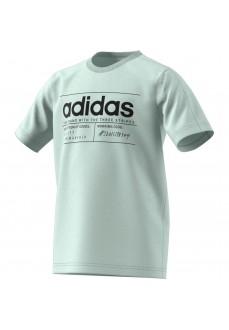 Adidas Kids' T-Shirt YB BB T Green FM0775   Kids' T-Shirts   scorer.es