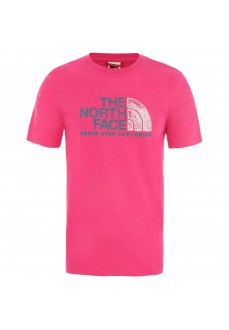The North Face Men's T-Shirt Rust 2 Tee Fuchsia NF0A4M68WUG1
