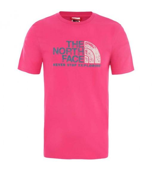 The North Face Men's T-Shirt Rust 2 Tee Fuchsia NF0A4M68WUG1   Men's T-Shirts   scorer.es