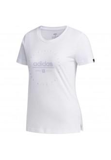 Camiseta Mujer Adidas Clock Blanca FM6149