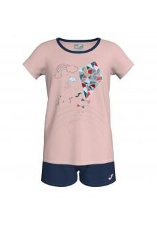Joma Girl's Set Sienra Navy Blue/Pink 500279.525 | Tracksuits for Kids | scorer.es