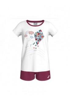 Joma Girl's Set Sienra Maroon/White 500279.522 | Tracksuits for Kids | scorer.es