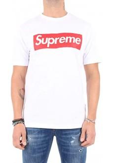 Camiseta Supreme Hombre Sleeve Print Blanca 10007-TPR-19-002-30003