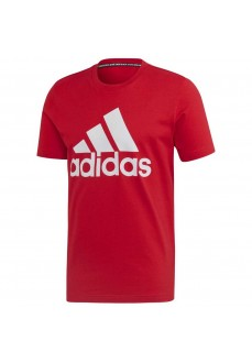 Camiseta Hombre Adidas Must Haves Badge of Sport Rojo FL3943 | scorer.es