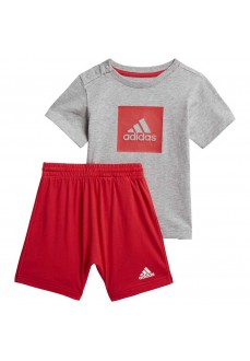 Adidas Infant Set I Logo Red/Gray FM6378