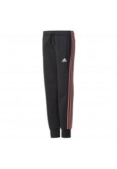 Pantalón largo Adidas Junior Negro/Naranja
