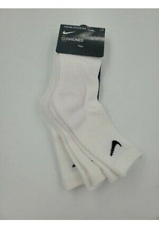 Calcetines Nike Basic Pack Crew Blanco RN0027-001