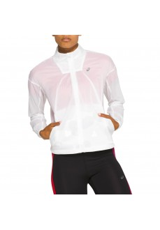 Asics Women's Sweatshirt Tokio Jacket White 2012A791-101 | Sweatshirt/Running Jacket | scorer.es