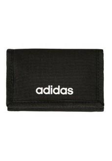 Billetera Adidas Linear Logo Negro FL3650