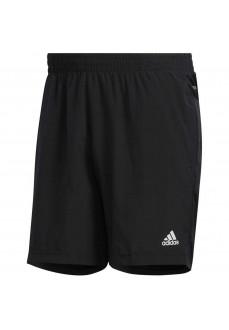 Pantalón corto Hombre Adidas Run It PB 3 bandas Negro FP7541