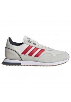 Zapatillas Hombre Adidas 8K 2020 Beig/Rojo EG4758 | scorer.es