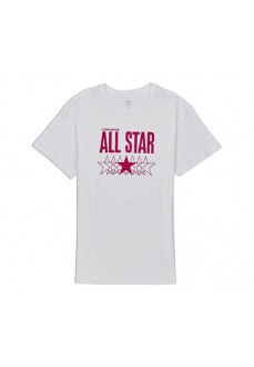 Camiseta Mujer Converse All Star Relaxed Blanco 10018421-A01