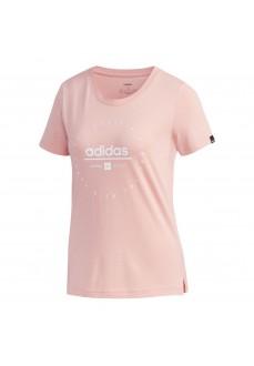 Adidas Women's T-Shirt Adi Clock Pink FM6152