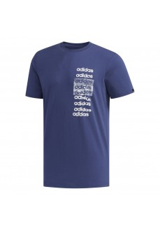 Camiseta Hombre Adidas 3X3 Tee Azul FM6237