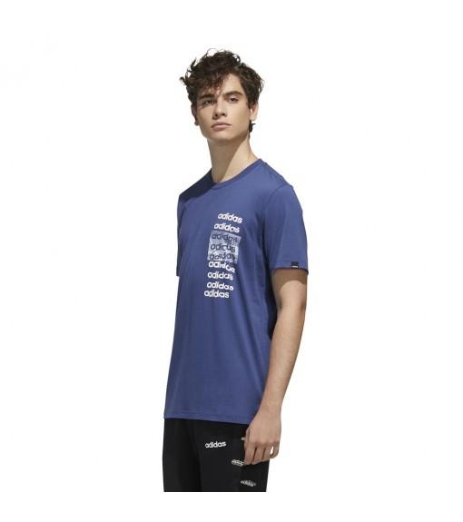 Camiseta Hombre Adidas 3X3 Tee Azul FM6237 | scorer.es
