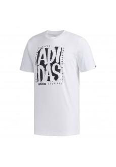 Camiseta Hombre Adidas Stamp Tee Blanco FM6243 | scorer.es