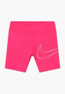 Pantalón Corto Niña Nike Dri-fit Fucsia 36G015-A96