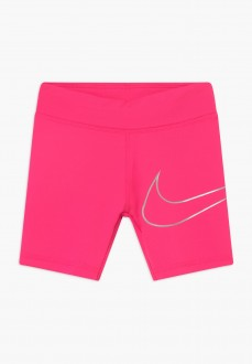 Nike Girl's Shorts Dri-fit Fuchsia 36G015-A96